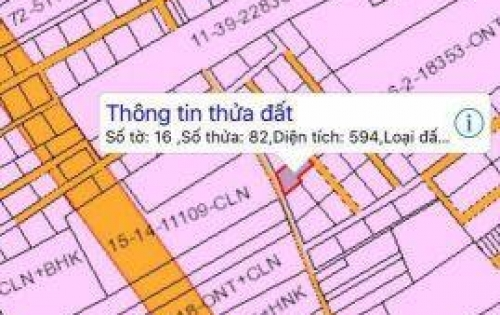 Bán gấp Lô đất nền mặt tiền đường 60M gần KCN Giang Điền giá 3,3 triệu/m2