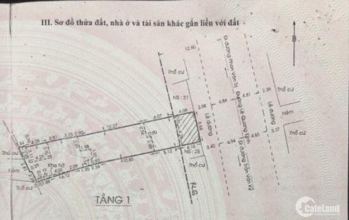 Bán nhà MT 6x35 Lê Quang Định Quận Bình Thạnh