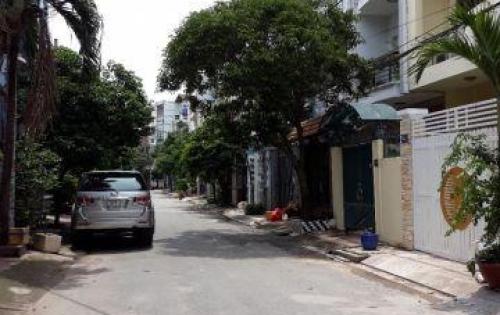 Bán nhà 3 lầu, có hầm để xe hơi khu Bình Lợi, Phường13, Bình Thạnh Diện tích: 4x19m, vuông vức.