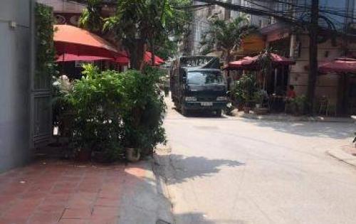 Bán nhà Nguyễn Chánh Cầu Giấy 40m 5 tầng khu phân lô đường ô tô tránh có vỉa hè 2m