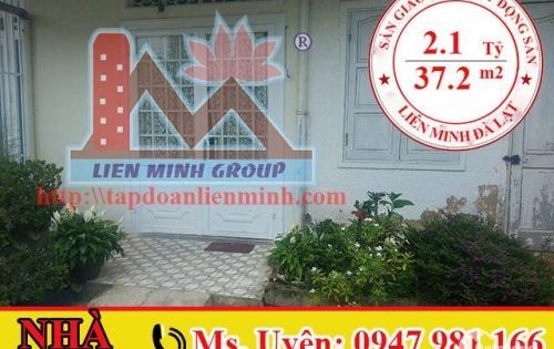 Bán Nhà Hẻm Ô Tô Đường Yersin, Phường 9, Đà Lạt Giá 2.1 Tỷ. LH: 0947 981 166