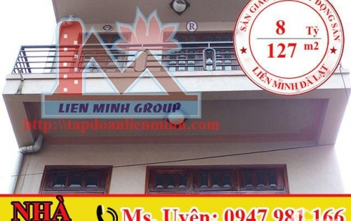 Bán Nhà Hẻm Ô Tô Đang Kinh Doanh Tốt Đường Trần Phú, Phường 3, Đà Lạt Giá 8 Tỷ. LH: 0947 981 166