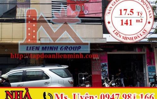 Bán Nhà Mặt Tiền Đường Kinh Doanh Tốt Phan Đình Phùng, Phường 2, Đà Lạt Giá 17.5 Tỷ. LH: 0947 981 166