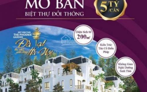 Chính thức mở bán biệt thự cao cấp The Phoenix giá chỉ 15.5 tr/m2, chiết khấu 400 tr - 0968908189