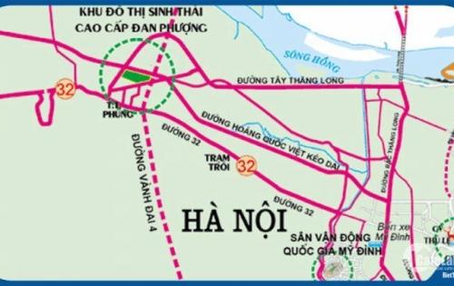 Khu ĐT đáng sống nhất phía Tây Hà Nội , biệt thự 5 tỉ cách Mỹ đình 9km Lh 0966173881