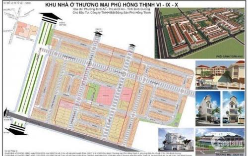 Siêu dự án bậc nhất Bình Dương Phú Hồng Thịnh 10. Siêu lợi nhuận cho các nhà đầu tư. LH: 0964131618