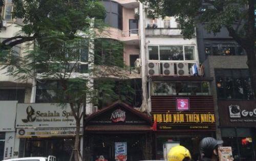 Cần bán nhà MP Huỳnh Thúc Kháng 83m 6 tầng MT 4,5m, 2 mặt tiền giá 35,2 tỷ