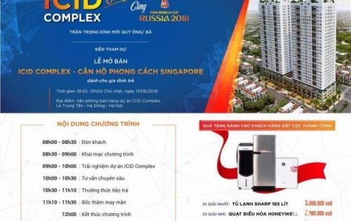 Thư mời mở bán căn hộ cao cấp ICID Complex