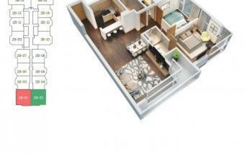 Bán căn 02 dự án chung cư Green Bay Premium LH 0974368501