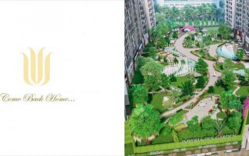 Thông báo mở bán dự án Imperia Sky Garden, tặng 3 năm phí dịch vụ
