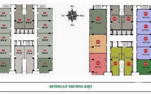 Bán căn hộ F. Home block A cam kết cho thuê 10% mỗi năm và block B mua để ở