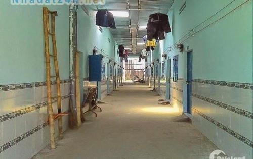 Bán 2 dãy phòng trọ 16 phòng, thu nhập 25 triệu/tháng,Diện tích 250m2