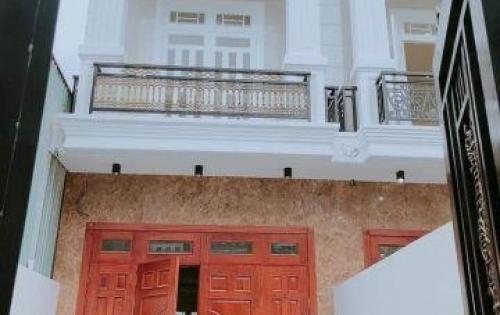 Bán Nhà Mới Xây, DT: 4 X 16M, Đúc 3 Tấm, Hẻm 8m Thông Buôn Bán KD
