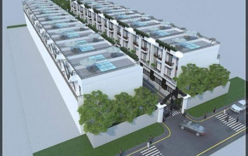 Nhà phố ngay Đông Thạnh, Hóc Môn, 1 trệt 2 lầu, sân thượng 2 tỷ 6, sổ hồng riêng, LH: 0971 109 601