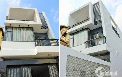 Bán nhà phố Hóc Môn chính chủ 1 trệt, 2 lầu 180m2 giá 2,1 tỷ