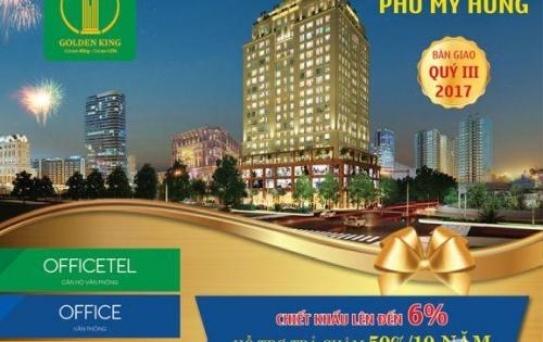 Golden King - vua của Officetel Quận 7 - dự án đầu tư cam kết đầu tiên của Sài Gòn