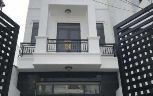 Bán nhà Huyện Nhà Bè Hẻm 1979 Huỳnh Tấn Phát Thị Trấn Nhà Bè DT 5m x 19m, 3 lầu, giá 5.5 tỷ.