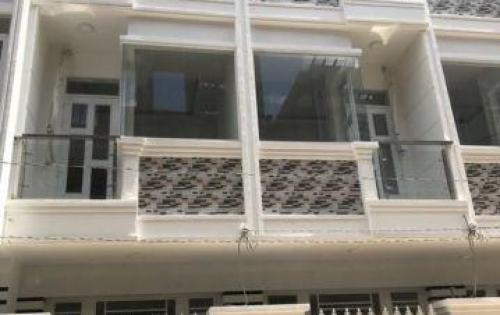 Bán nhà đường Nguyễn Bình Khu Ủy Ban Huyện Nhà Bè DT 3,5m x 8m, 2 lầu, 4PN, hẻm 8m, giá 1.45 tỷ