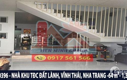 Bán nhà 2 tầng TĐC Đất Lành,đường Phong Châu,Vĩnh Thái, Nha Trang