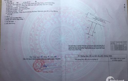 Bán Hai Lô đất Xuân Sơn,Vĩnh TRung ( 101m2) Chính Chủ sổ hồng
