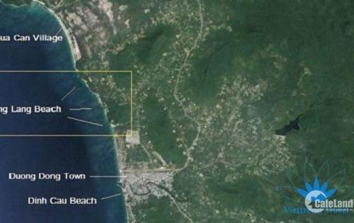 Ocean land 14 đáp ứng đầy đủ tiêu chí lưng tựa núi, mặt hướng biển, phù hợp để kinh doanh