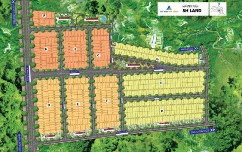 Cơ hội vàng sở hữu 64 nền đẹp nhất Khu đô thị Sh Land,giá tốt nhất thị trường,Pleiku,Gia Lai