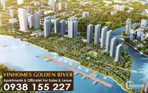 Chính chủ bán CH Vinhomes Golden River, viên kim cương cuối cùng giữa lòng Thành Phố, Hotline 0938.155.227