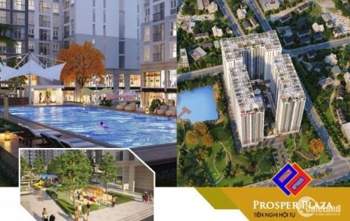 Bán lại căn hộ Prosper Plaza tầng 8 chỉ 1tỷ2/căn 2PN, 2WC view sân bay, tiện ích 5 sao, 01222256291