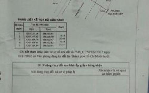 Nhà mặt tiên đường Dương thị Mười (tân chánh hiệp 21 cũ- cách bênh vien quan 12 khoản 100m)