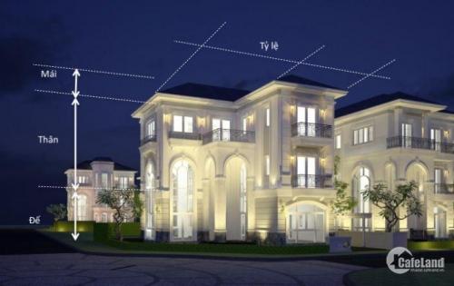 Biệt thự Compound cao cấp Sol Villas trái tim xanh của thành phố mới