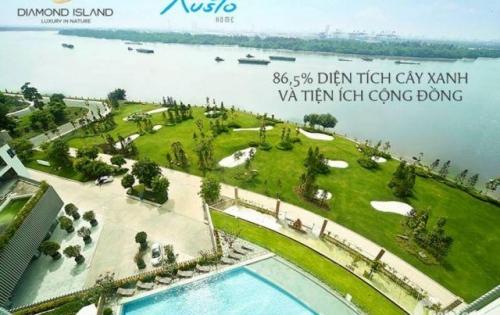 Bán căn hộ 2 pn tháp Bora Đảo Kim Cương dt 86m2 view công viên giá tốt