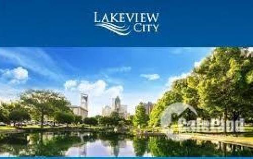 BÁN CĂN GÓC LAKEVIEW CITY - HƯỚNG NAM, GẦN HỒ VÀ CÔNG VIÊN GIÁ 14,5 TỶ