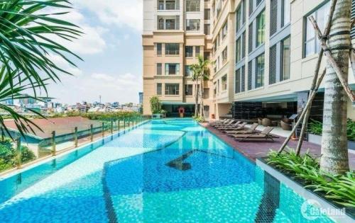 Bán căn hộ The Tresor, 3PN, 87.55m2, giá 4.8 tỷ view hướng Đông Nam