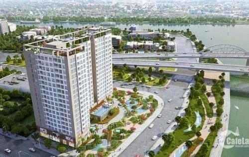Riva Park Q. 4 3PN, căn góc view đẹp giá 4tỷ150 (đã VAT, PBT) tầng cao 2 mặt sông. HL 0903086200