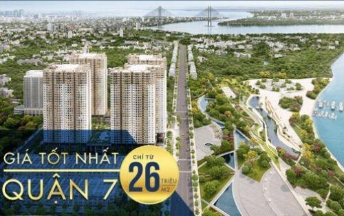 Căn Hộ Cao Cấp Q7 Saigon Riverside Ven Sông Ngay Phú Mỹ Hưng chỉ 1.8 tỷ, CK 18%. Tặng Vé Du Lịch Hồng Kong