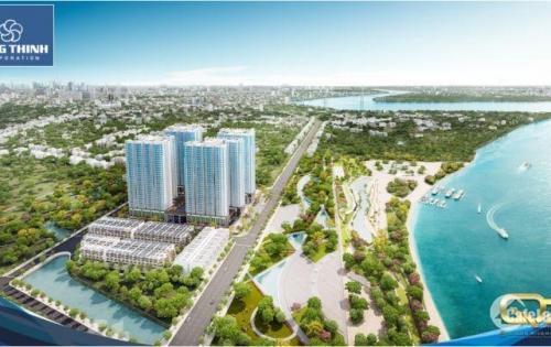 CH quận 7, ven sông Sài Gòn, mặt tiền Đào Trí chỉ với 490 triệu