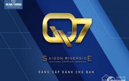 Hưng Thịnh land mở bán căn hộ cao cấp Q7 Sài Gòn Riverside, mặt tiền đương view sông, 26tr/m2 LH:0909966258