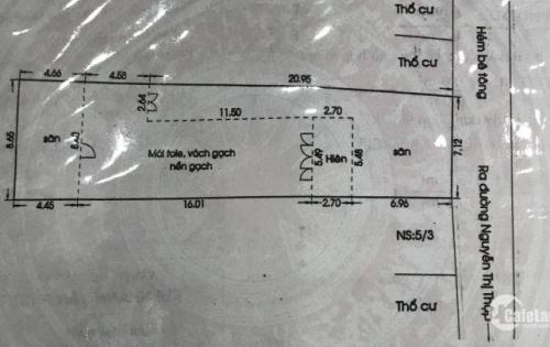 Bán nhà cấp 4 Chính Chủ hẻm ô tô 118 Nguyễn Thị Thập, QUẬN 7