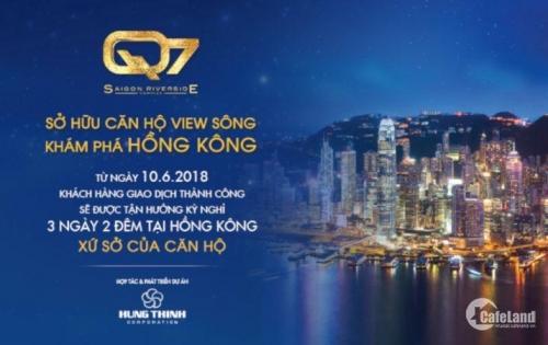 Bán căn hộ cao cấp dự án của Hưng Thịnh bên sông - Tăng 1 cặp vé đi Hồng Kông