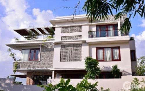 Biệt thự Sài Gòn tuyệt đẹp với phong cách miền Tây Nam Bộ DT 9m x 21m XD 1 hầm 3L