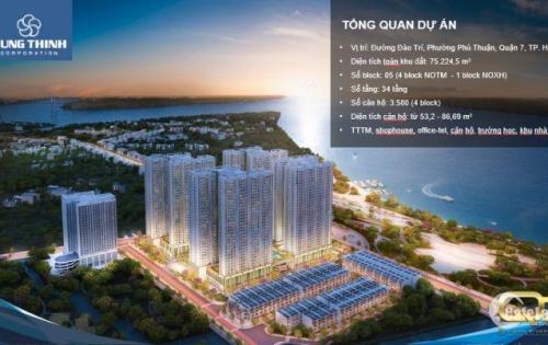 Căn hộ quận 7 Saigon Riverside 2PN với giá 1,8 tỷ/căn, chiết khấu từ 3 - 18%, tặng ngay cặp vé du lịch Hongkong trị giá hơn 40 triệu. LH CĐT 0935754593.