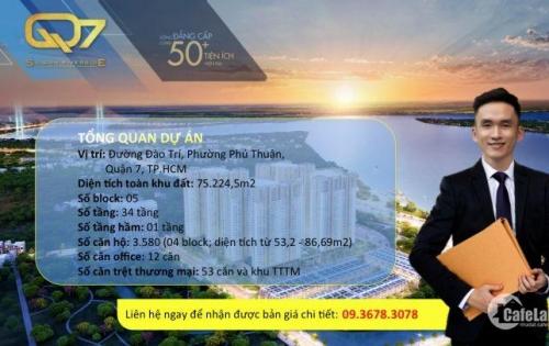Rổ hàng 18 căn Q7 SaiGon Riverside Complex đẹp nhất, giá GĐ 1 tốt nhất khu vực PMH, sinh lời cao