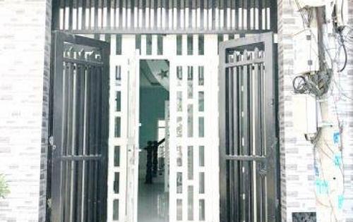 Bán nhà mới 1 lầu hẻm 141 đường số 13 Phường 4 Quận 8
