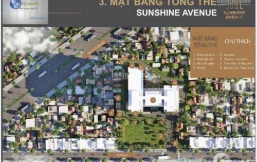 1tỷ55 - A08-08, Cần tiền bán rẻ căn hộ tại chung cư Sunshine Avneue, 70m2 bao hết phí