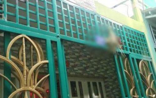 Bán nhà 1 lầu hẻm 104 đường Đồng Hồ Phường 4 Quận 8