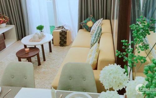 Bán căn hộ 2 phòng ngủ, cách trung tâm Sài Gòn 15 phút. Thanh toán 30%, ở liền
