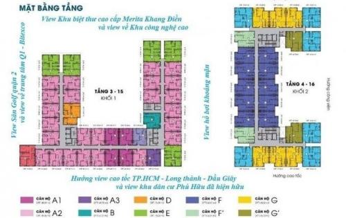 Bán căn hộ cao cấp Sky 9 mang phong cách và chất lượng Hàn Quốc 65m2, Gía: 1tỷ 350