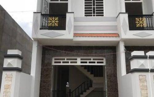 **AN CƯ LẬP NGHIỆP** Nhà mới xây 1 trệt 1 lầu đẹp, kiên cố, 82m2, sổ hồng riêng chính chủ