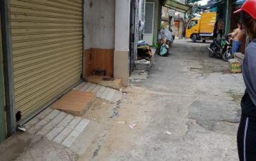 Bán nhà cấp 4 hẻm xe hơi sau lưng chùa Kỳ Quang 2ty360 - 0919.788.786