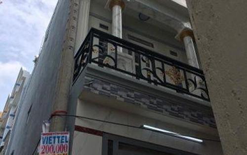 Chuyển nơi công tác mới cần bán gấp căn nhà 2 lầu mới ở, hxh Tân Thới Hiệp.3,3x10m